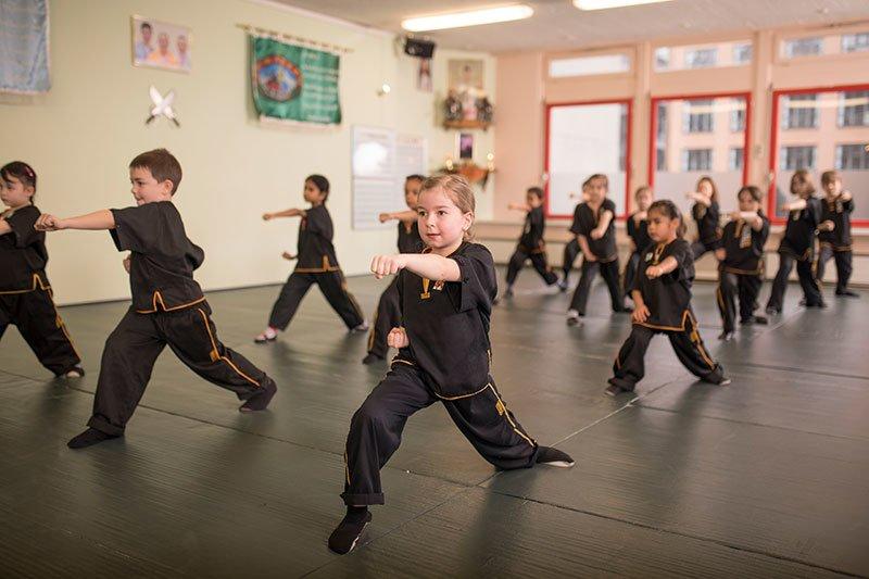 Kinder Kung Fu - Schlag