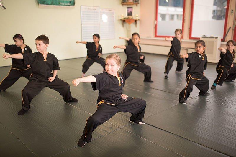 Kinder Kung Fu - Bogenstand