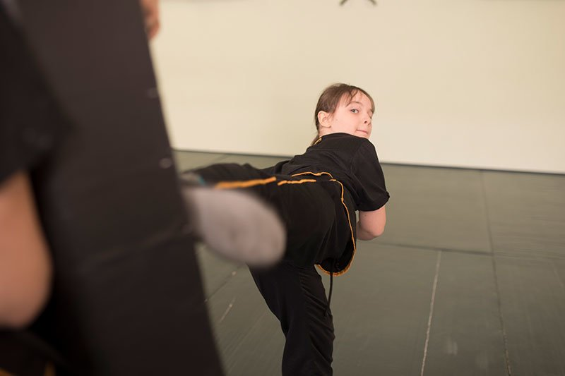 Kinder Kung Fu - Kick in Kissen