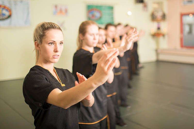 Wing Chun - Selbstverteidigung - Grundposition