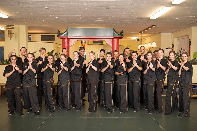 Selbstverteidigung - Wing Chun - Gruppenfoto