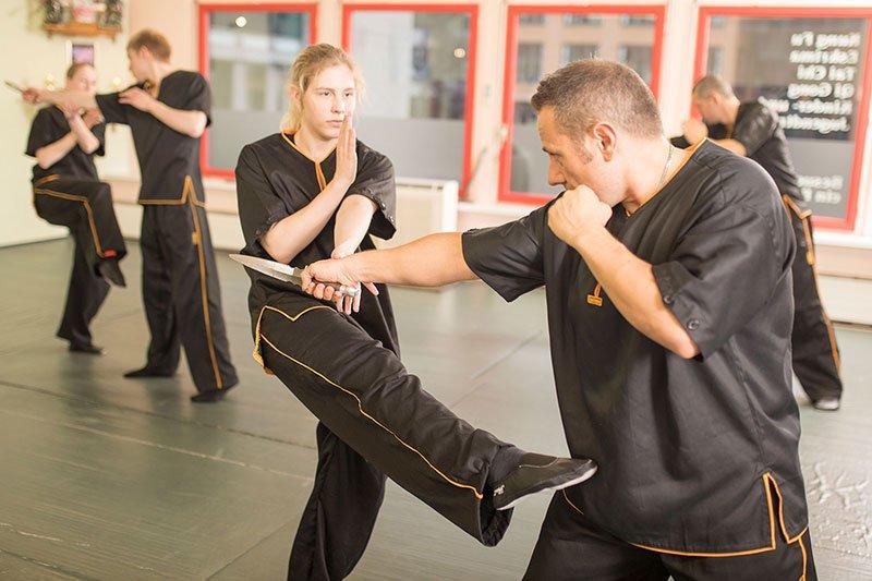 Wing Chun - Selbstverteidigung gegen Messer