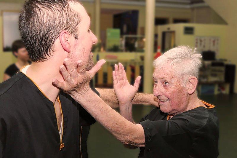 Selbstverteidigung - Wing Chun - Handflächenschlag