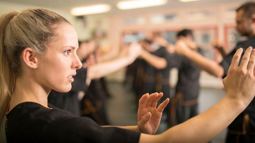Wing Chun Grundposition