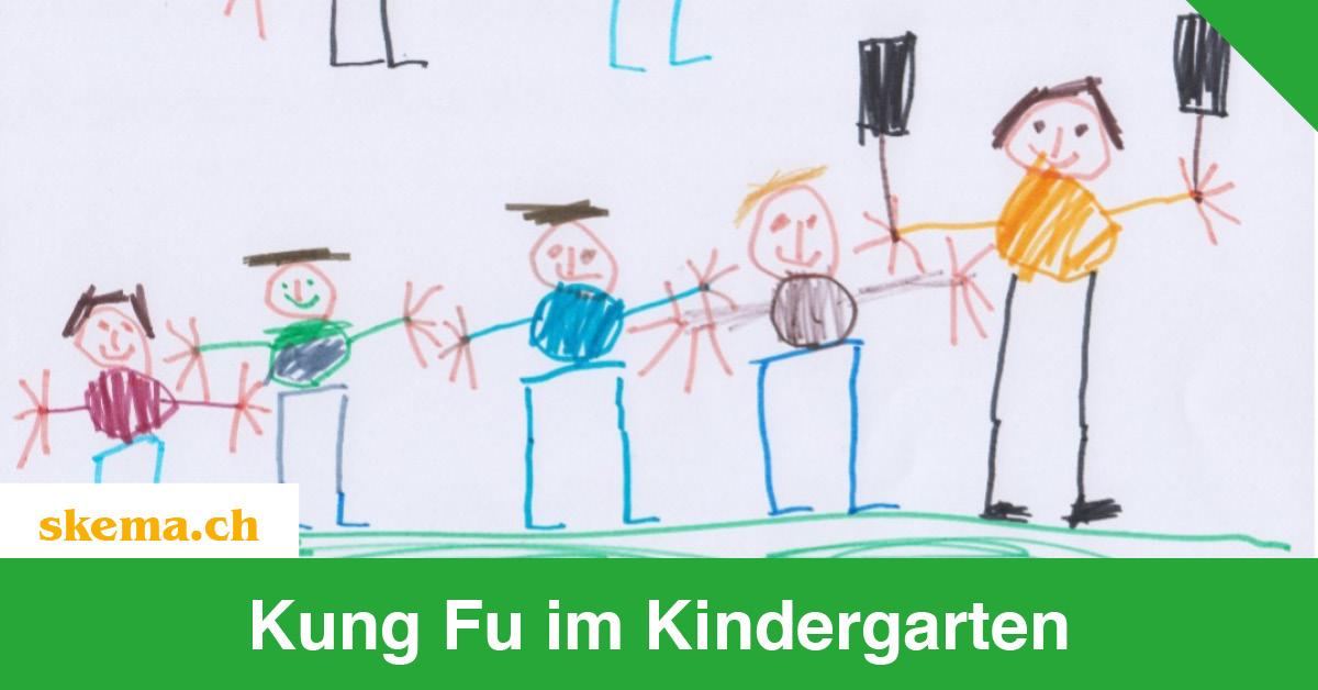 Blog Kung Fu im Kindergarten