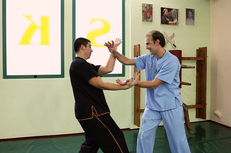 Wing Chun Kung Fu - Chi Sao